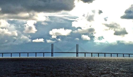 Die öresundbrücke Vom Kopenhagen Nach Malmö Anreise Nach