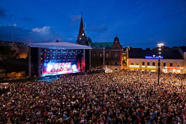 Malmö-Festival in Malmö, Schweden, vom 17.-24. August 2012