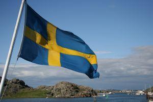 Die schwedische flagge treffpunkt for Stockholm veranstaltungen